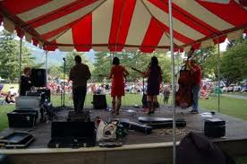 Bandstand at Groovin' at the Grovemont