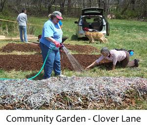 FANS Communit Garden at Clover Lane