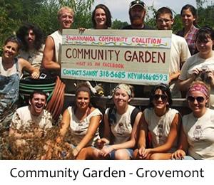 FANS Community Garden at Grovemont