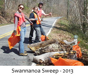 Swannanoa Sweep 2013