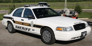 Photo of Buncombe County Sheriff's Patrol Car