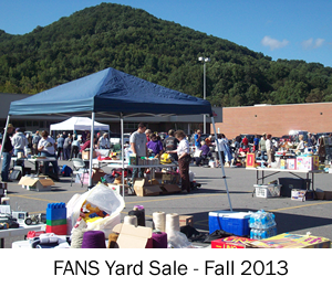 FANS Yard Sale Fall 2013