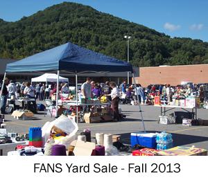 FANS Yard Sale Fall 2013