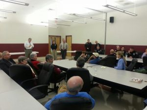 Sheriff Meets with Swannanoa Community