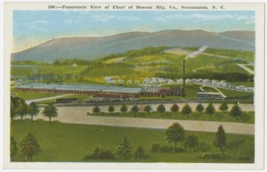 Vintage Swannanoa Post Card