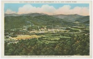 Swannnanoa Post Card