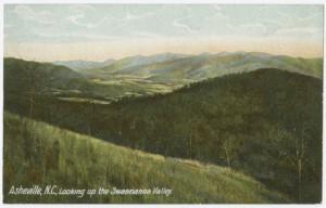 Vintage Postcard of Swannanoa