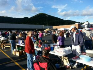 Swannanoa Community Yard Sale Fall 2014