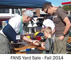 Swannanoa Yard Sale Fall 2014