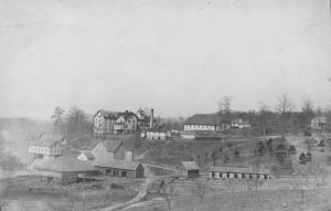 Asheville Farm School Campus circa 1900