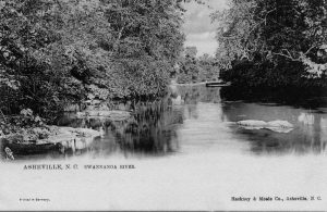 Postcard of Swannanoa River