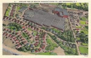 Aerial View of Beacon Mill, Swannanoa, NC
