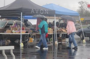 Rainy Community Yard Sale