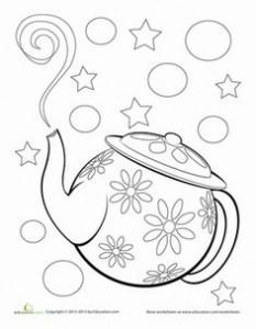 Tea Pot Outline