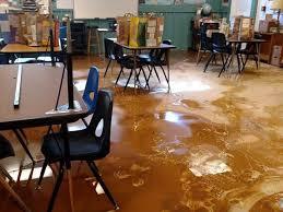 Flood Damage at ArtSpace Charter School