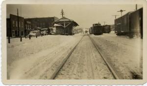 Scene of Swannanoa During Winter of 1936