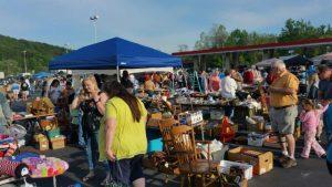 Swannanoa NC Community Yard Sale April, 2016