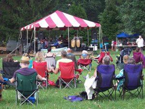 Groovin' on Grovemont Concert, Swannanoa, NC