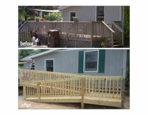 Sample of work done by Habitat for Humanity