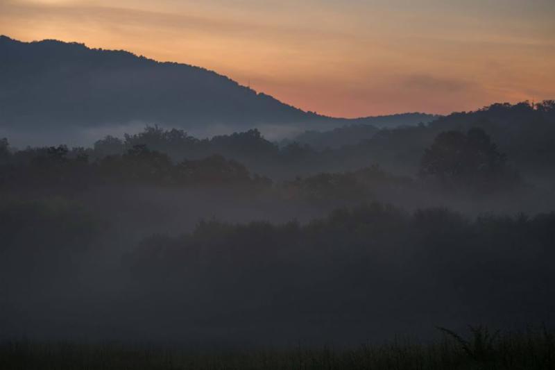 Mountain scene around Swannanoa, NC