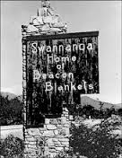 Image of Beacon Mill sign burned from 2003 fire, Swannanoa, NC