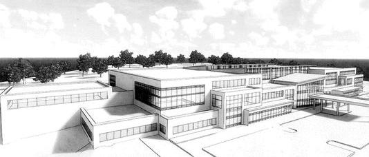 Drawing of proposed Mission health facility