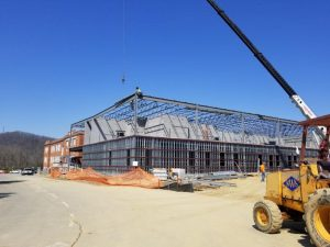 Renovation at Community High School in Swannanoa