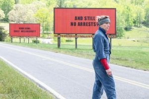 "Scene from ""Three Billboards"""