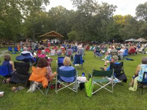 Groovin' on Grovemont - outdoor music in Swannanoa, NC