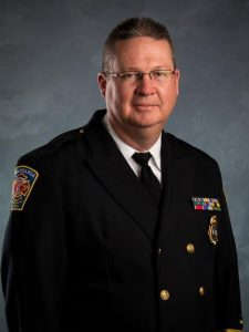 Anthony Penland, Swannanoa, NC, Fire Chief