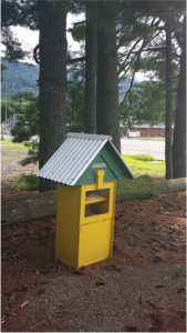 """Little Library"" in Swannanoa, NC"