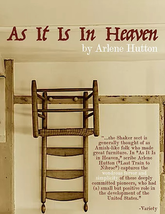 "Poster for play ""As It Is In Heaven"""
