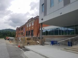 Construction at Swannanoa High School 2019