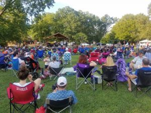Groovin' on Grovemont Outdoor Concerts
