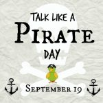 Talk Like a Pirate Day, Seot. 19, 2019