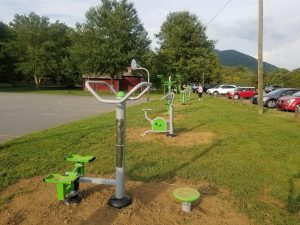 Fitness Stations at Owen Park, NC