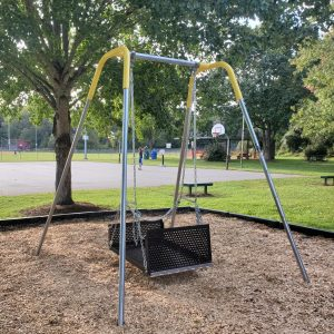 New Wheelchair Accessible Swing at Owen Park