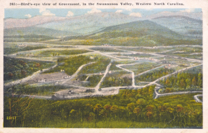 Birds-eye-view of Grovemont, NC
