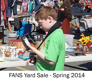 Swannanoa Yard Sale Spring 2014